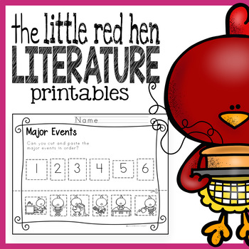 The Little Red Hen Worksheets