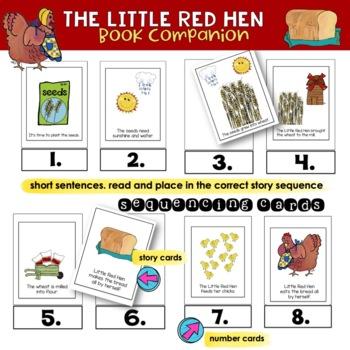 The Little Red Hen | Literacy & Math  | [Children's Literature]