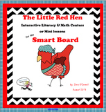 The Little Red Hen Mini-Lessons and Centers for the Smart Board