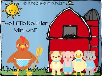 The Little Red Hen Mini Unit