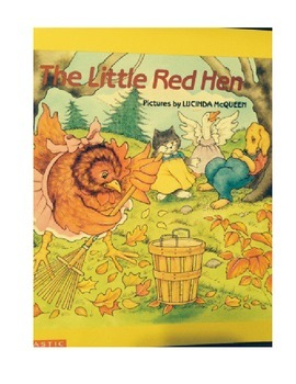 The Little Red Hen Picture Walk