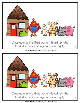 The Little Red Hen Reader