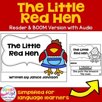 The Little Red Hen Reader ~ Simplified for Young Readers