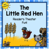 The Little Red Hen - Reader's Theater and Puppet Fun!
