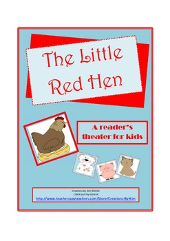 The Little Red Hen Reader's Theater