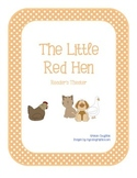 The Little Red Hen Reader's Theater Script
