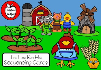 The Little Red Hen Sequencing Cards - Bee Bots