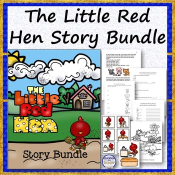 The Little Red Hen Story Bundle