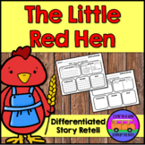 The Little Red Hen - Story Retell