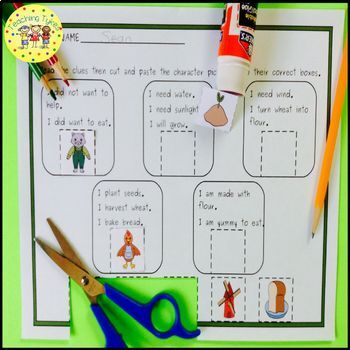 The Little Red Hen Worksheets Activities Games Printables and More