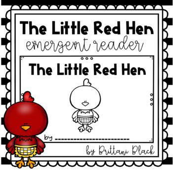 The Little Red Hen- emergent reader