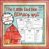 The Little Red Hen (Literacy Unit) #PresidentsDayTPTSale