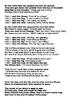 The Little Red Hen script editable