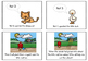The Little Red Hen story sequencing flashcards