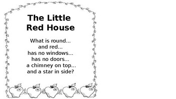 The Little Red House With No Doors or Windows and a Star Inside