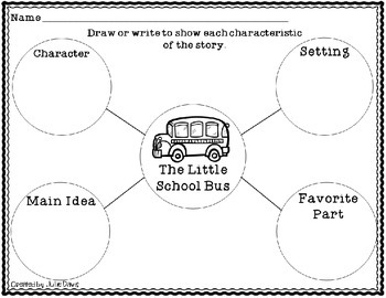 The Little School Bus Comprehension Game