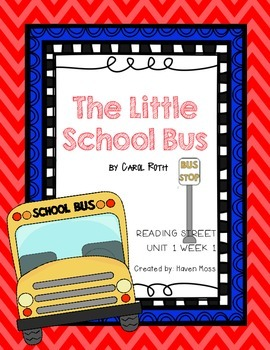 The Little School Bus [Reading Street]