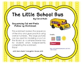 The Little School Bus Sequencing Cut and Paste