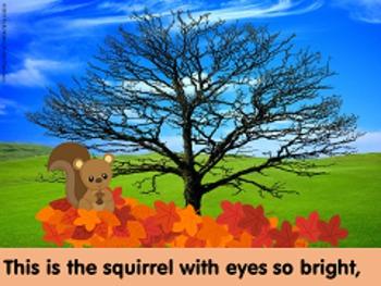 The Little Squirrel Emergent Reader BUNDLE