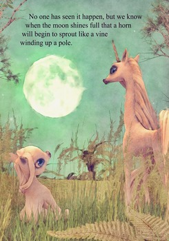 The Little Unicorn That Had No Horn-Children's Fairy Tale Book