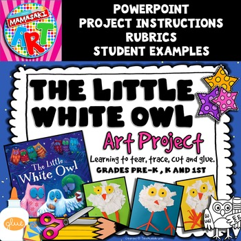 The Little White Owl Art Project