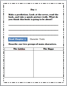The Littles Comprehension Packet