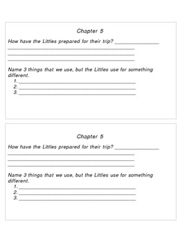 The Littles Go Exploring Packet