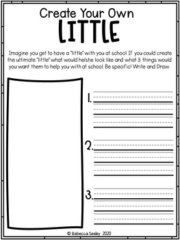 The Littles Go To School: A Book Study