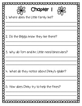 The Littles Have a Wedding Novel Unit or Guided Reading Pack