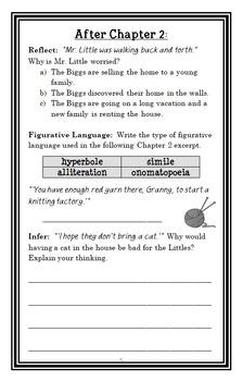 The Littles (John Peterson) Novel Study / Reading Comprehension Unit