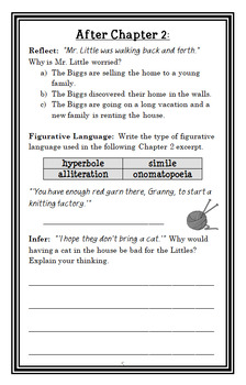 The Littles (John Peterson) Novel Study / Reading Comprehension (26 pages)