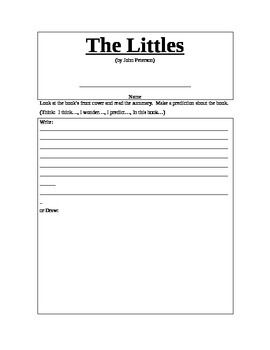 The Littles Lit Log (by John Peterson)