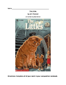 The Littles- Literature Circle Unit