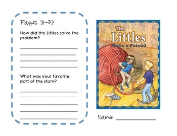 The Littles Make a Friend Guided Reading