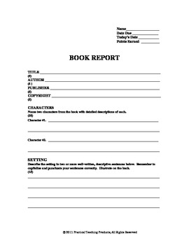 The Littles Worksheets and Book Report