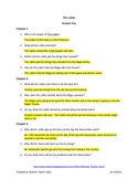 The Littles by John Peterson Comprehension Questions