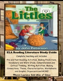 The Littles by John Peterson ELA Novel Reading Literature Study Guide
