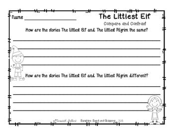 The Littlest Elf ELA Mini Unit {FREEBIE}