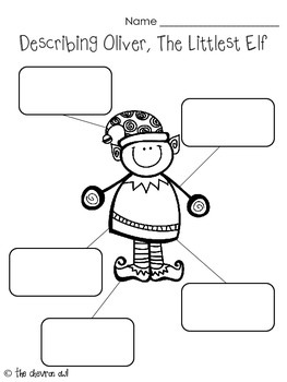 The Littlest Elf Literacy Activities
