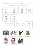 The Littlest Elf: Sequencing Worksheets