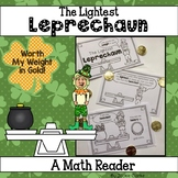 The Littlest Leprechaun: A Math Reader (measuring weight)