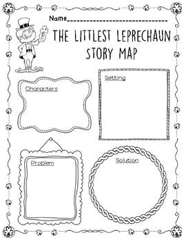 The Littlest Leprechaun Story Map