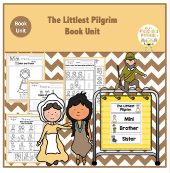 The Littlest Pilgrim - Book Unit