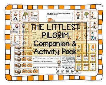 """The Littlest Pilgrim"" Companion / Activity Pack Thanksgiv"