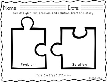The Littlest Pilgrim [Literacy Activities]