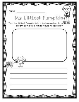 The Littlest Pumpkin (a book companion)