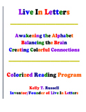 The Live In Letters Colorized Reading Program eBrochure