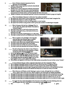 The Lives of Others Film (2006) 15-Question Multiple Choice Quiz