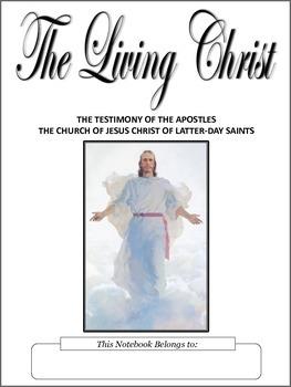 The Living Christ Copywork Notebook