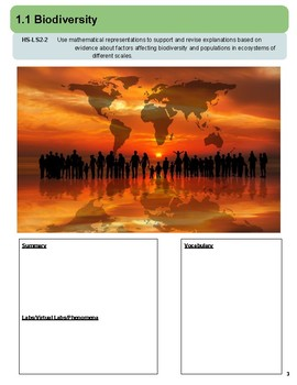 The Living Earth: Instructional Segment 1 (Blank Planning Book)